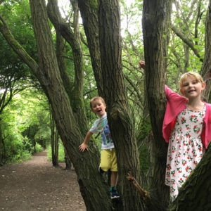 Fun in Irlam Linear Park - this image won 1st prize in the Irlam and Cadishead Times 2017 photography competition.